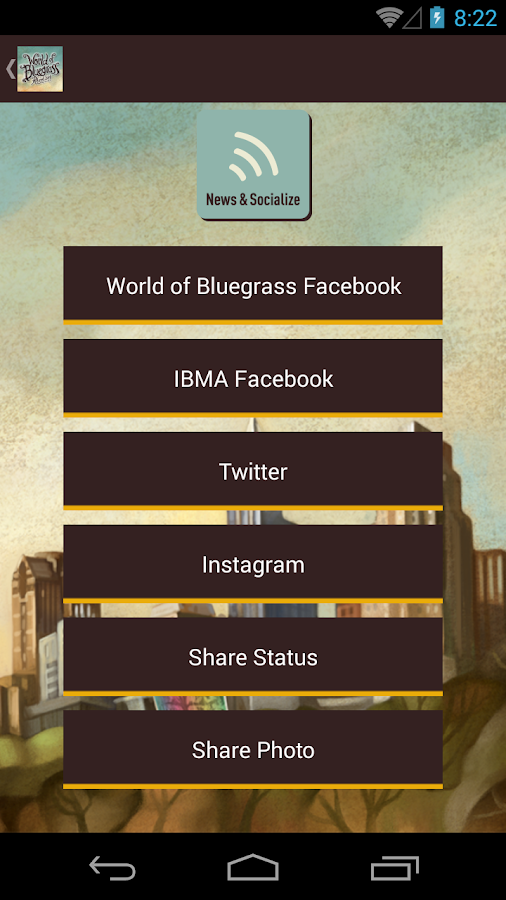 IBMA World of Bluegrass 2014- screenshot