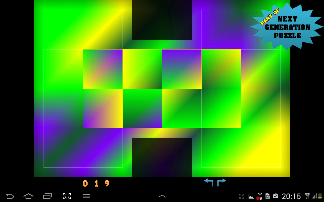 Coolcolors - puzzle- screenshot