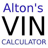 Alton's VIN Calculator