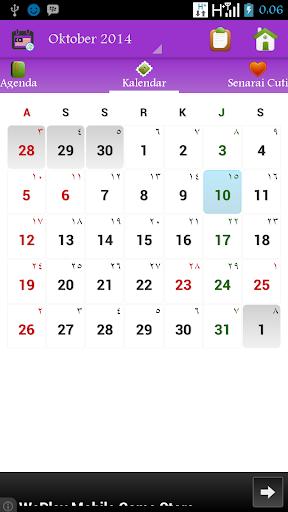 Kalendar Malaysia 2015 - 2100