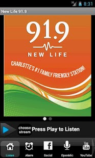 New Life 91.9- screenshot thumbnail