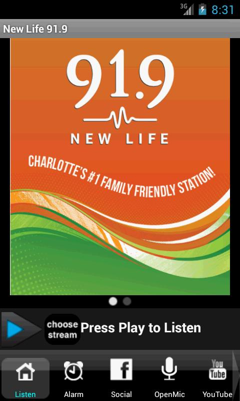 New Life 91.9- screenshot