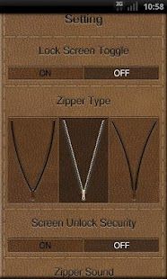 Zipper Lock Free Leather Coll.- screenshot thumbnail