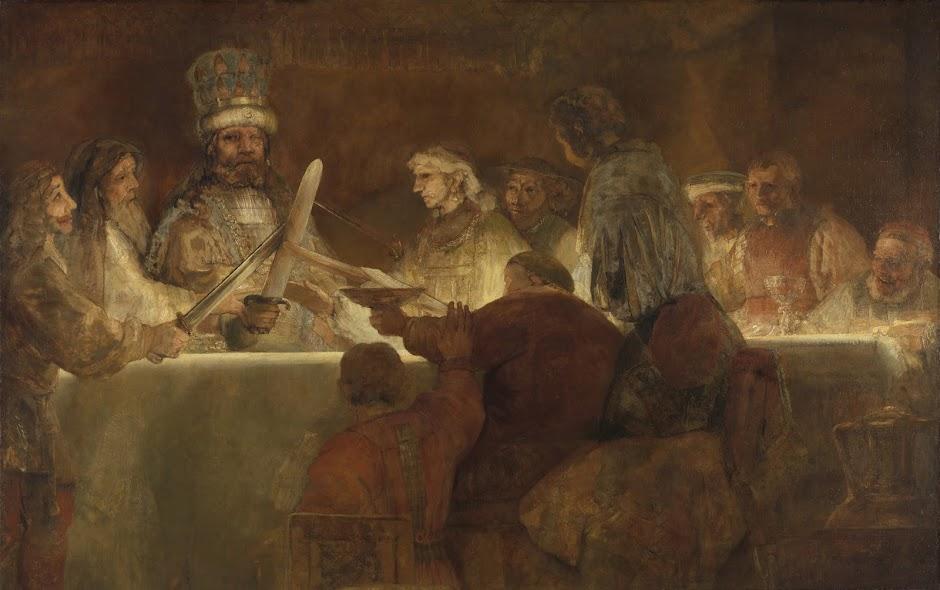 Rembrandt's Claudius Civilis temporarily on view at the Rijksmuseum - Press releases - Press - Rijksmuseum