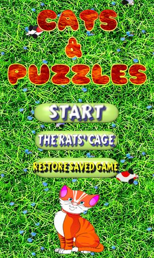 Gatti e Puzzles Free