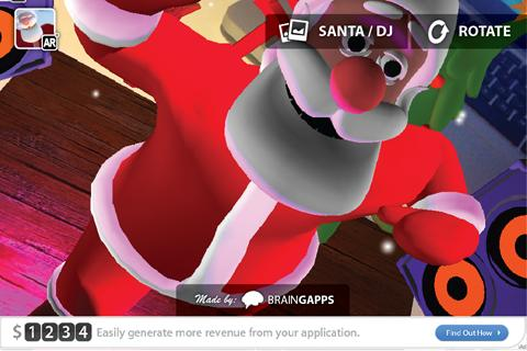 Christmas AR - screenshot