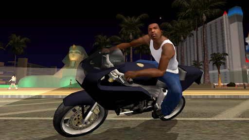 لالروبوت Grand Theft Auto: San Andreas ألعاب screenshot