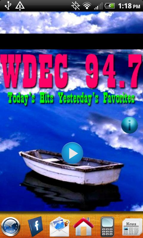 WDEC Mix 94.7 - screenshot