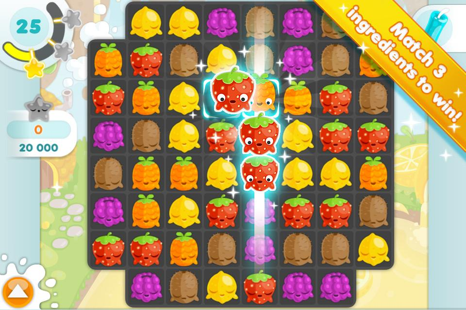 Jelly Glutton - Candy puzzle - screenshot