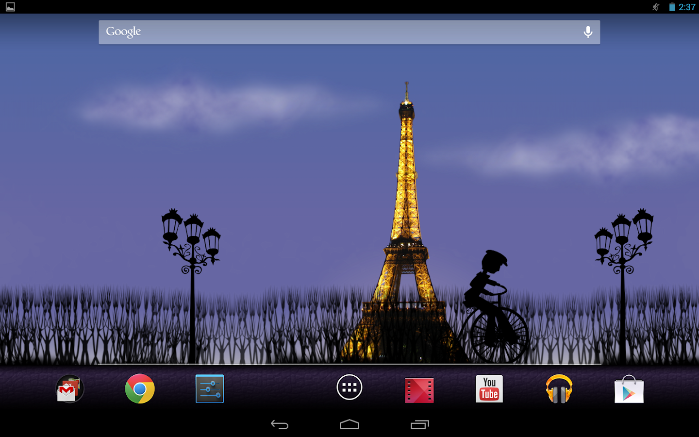 Mon Ami Paris Live Wallpaper - screenshot