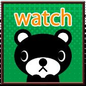 【無料】くま吉くん デジタル時計ウィジェット