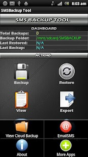 SMSBackup Tool - screenshot thumbnail