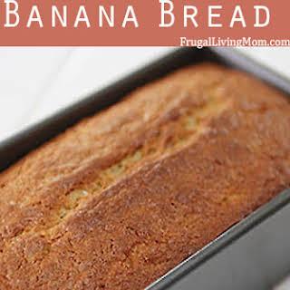 Gluten Free Banana Bread.