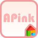A-pink pink ver dodol theme icon