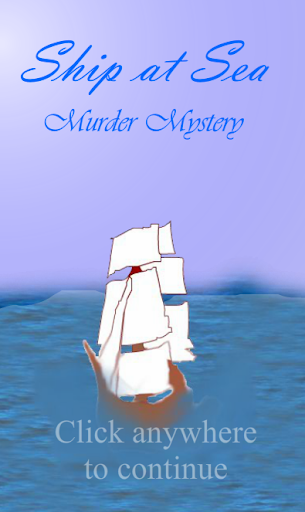 Ship at Sea - Murder Mystery