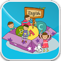 English word game for kids icon