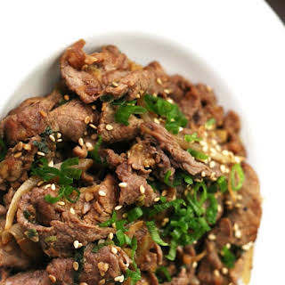 Bulgogi Recipe - Korean Barbecue Beef 불고기.