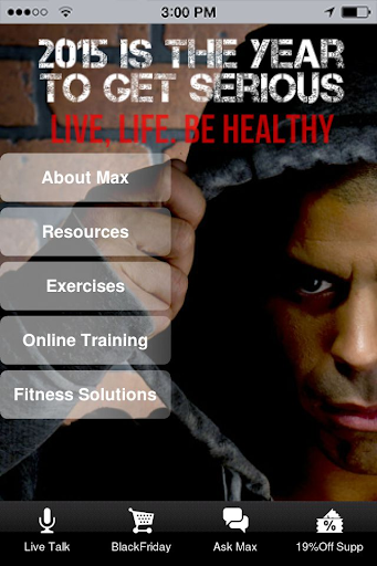 Max - My Fitness Expert