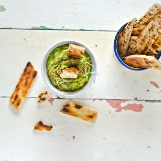 Avocado and Radish Dip.