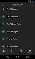 Screenshot of 8-Bit Ringtones