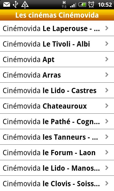 Cinémovida- screenshot