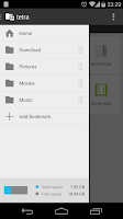 Screenshot of Tetra Filer Free