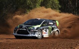 Screenshot of Desert Rally Racing