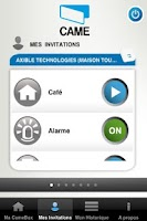 Screenshot of Came Mobile