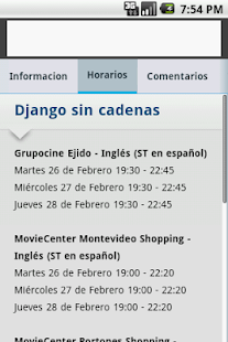 Cartelera - Montevideo Comm- screenshot thumbnail