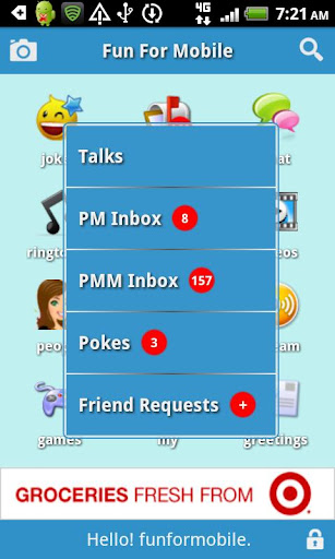 FunForMobile Ringtones & Chat screenshot