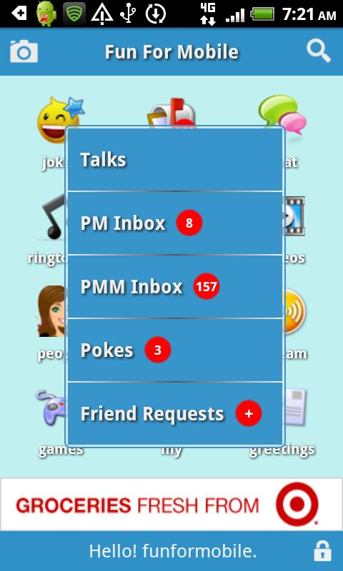 FunForMobile Ringtones & Chat - screenshot