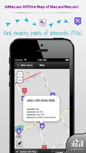 Macau offline map from hiMaps