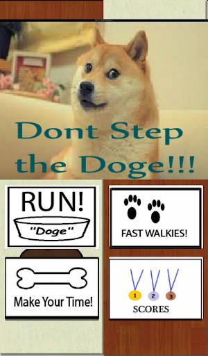 Dont Step The Doge Poop
