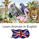 Aprenda animales en Inglés icon