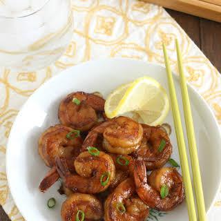 Shrimp with Spicy Garlic Sauce.