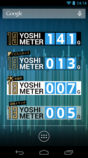 YOSHI METER