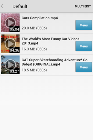 My Video Tube - Video Download - screenshot