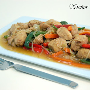 Chicken and Vegetable Chop Suey