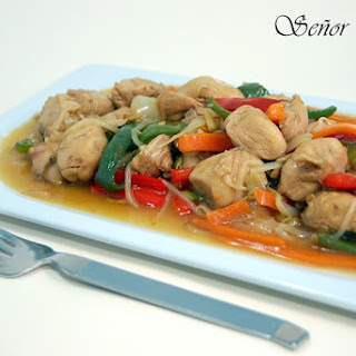 Chicken and Vegetable Chop Suey.