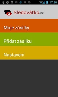 Sledovátko.cz- screenshot thumbnail
