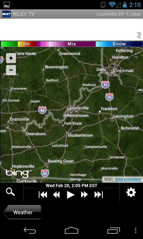 WLKY News and Weather - screenshot