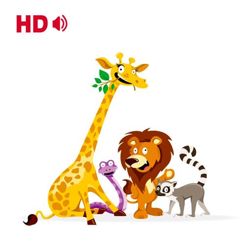 塗り絵の本 - 動物 教育 App LOGO-APP試玩