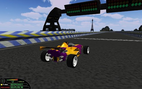 Speed on Racer 3D LITE - screenshot thumbnail