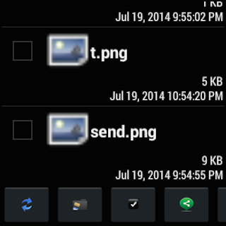 File Manager for Android Wear- screenshot