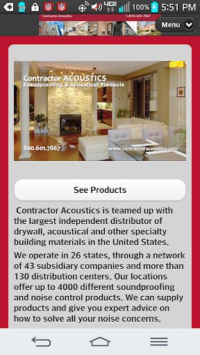 Contractor Acoustics