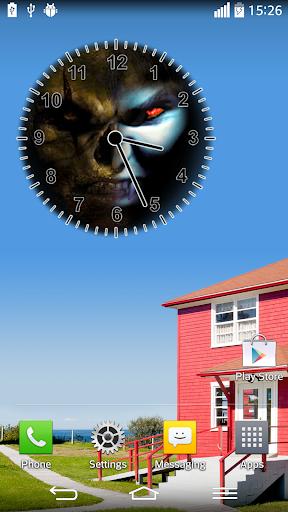 針對 吸血鬼 殭屍 時鐘