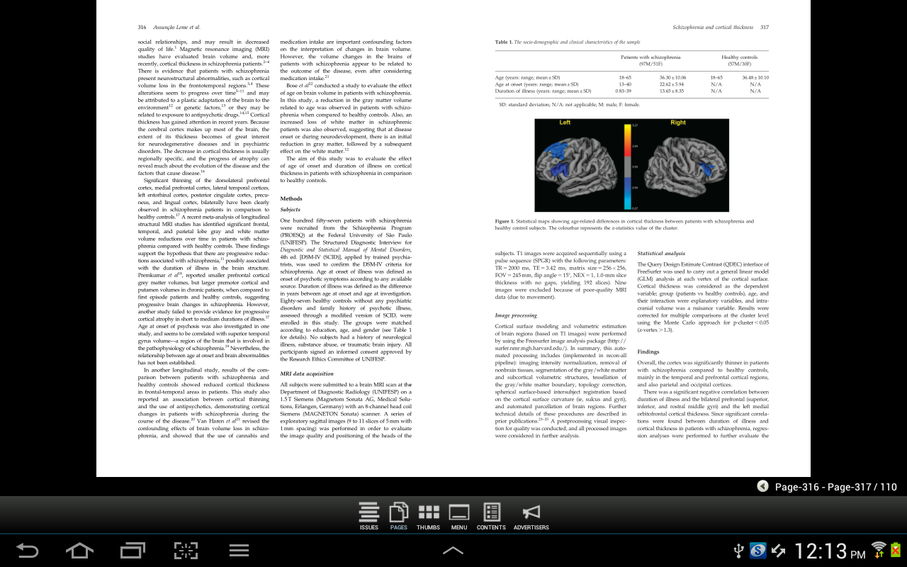 CNS Spectrums - screenshot