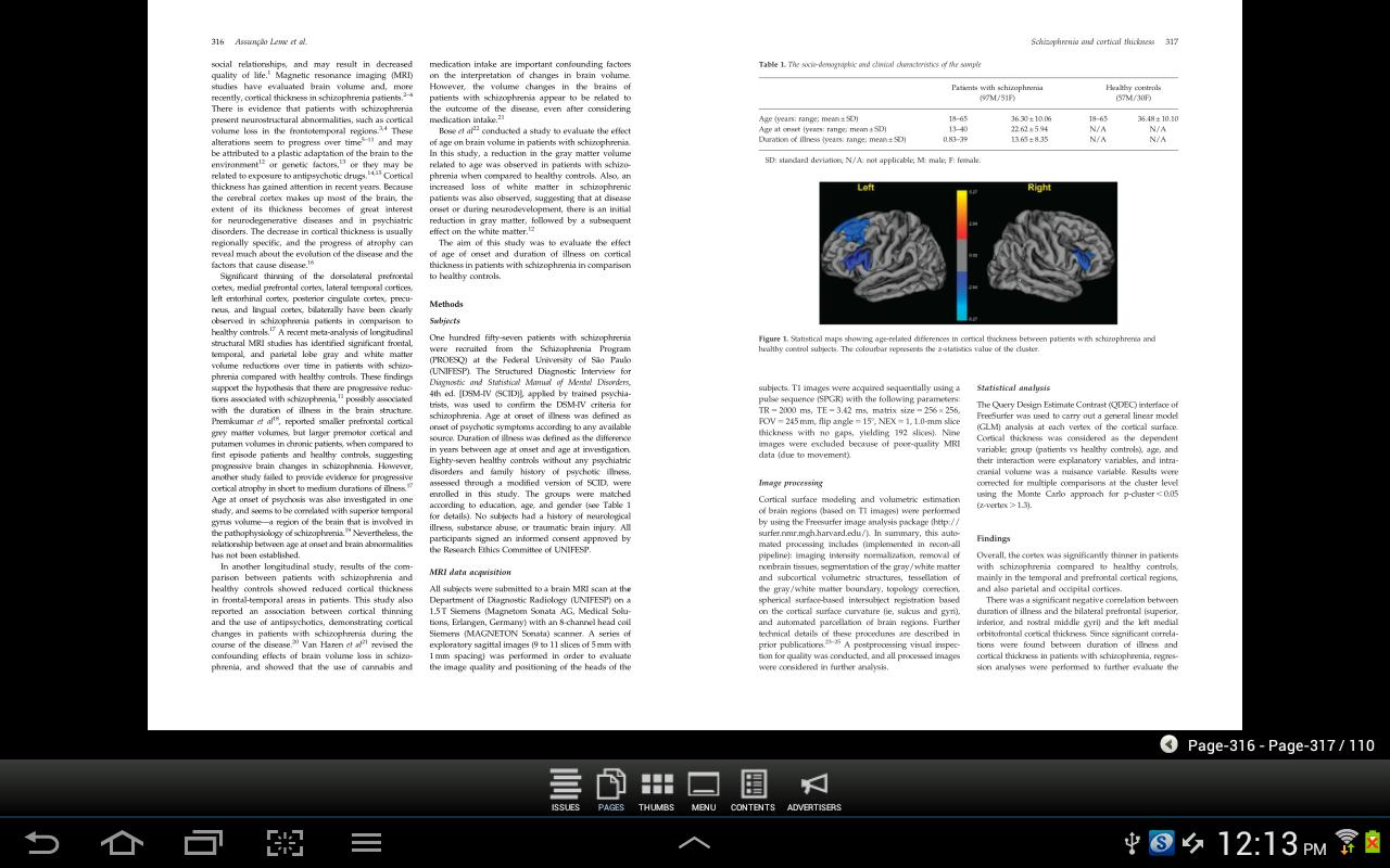 CNS Spectrums - screenshot