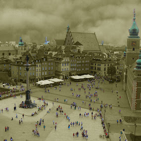 warsaw old town by Artur Kuligowski - City,  Street & Park  Historic Districts ( old, town, warsaw )