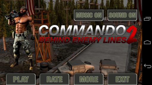 Commando Behind Enemy lines 2